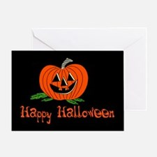 Halloween Jack O' Lantern Greeting Card