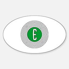 Edsel Bullseye Logo Decal