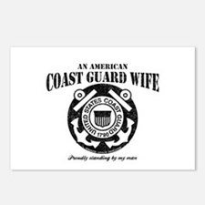 An American Coastie Wife Postcards (Package of 8)