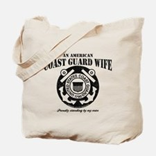 An American Coastie Wife Tote Bag