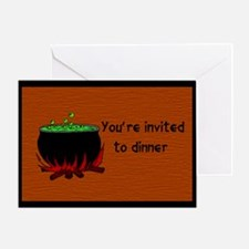 Dinner Invitation Greeting Card