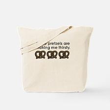 'Pretzels' Tote Bag