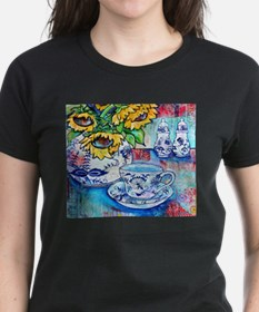 Blue Danube & Sunflowers T-Shirt