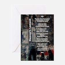"""Heaven's Lament"" (9/11 Tribute) Greeting Card"