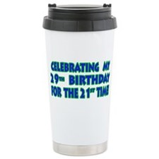 Cute Fiftieth b day Travel Mug