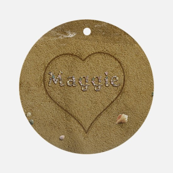 Maggie Beach Love Ornament (Round)