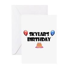 Skylar's Birthday Greeting Card