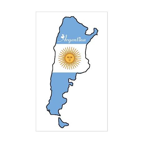 Cool Argentina Rectangle Sticker
