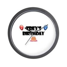 Trey's Birthday Wall Clock