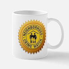Crime Watch Neighborhood Mug