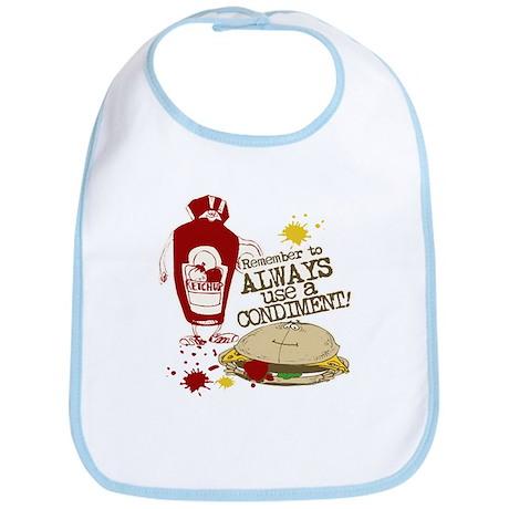 Always Use A Condiment! Bib