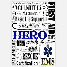 EMT Hero Subway Art