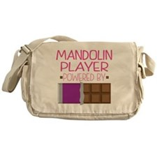 Mandolin Player funny Messenger Bag