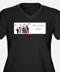 Social Workers- so misunderstood Plus Size T-Shirt