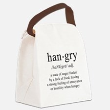 Cute Food Canvas Lunch Bag