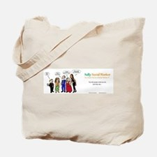 Social Workers- so misunderstood! Tote Bag