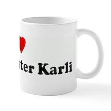 I Love  my big sister Karli Mug