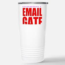 Hillary Email Gate Travel Mug