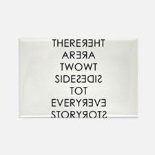 Two Sides to Every Story Magnets