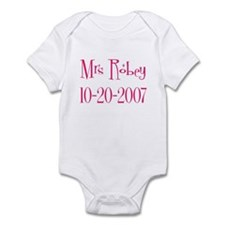 Mrs Robey 10-20-2007 Infant Bodysuit