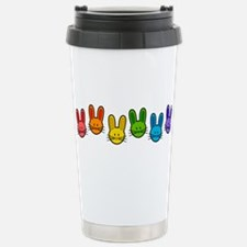 Bunnies Stainless Steel Travel Mug