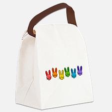 Bunnies Canvas Lunch Bag