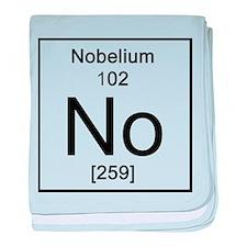 102. Nobelium baby blanket