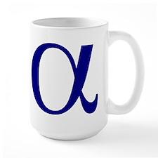 Large Alpha Mug