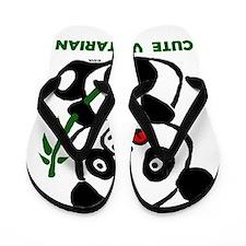 cute vegetarian Flip Flops