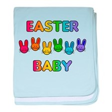 Easter Baby - Rainbow Bunnies baby blanket