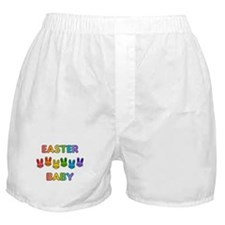 Easter Baby - Rainbow Bunnies Boxer Shorts