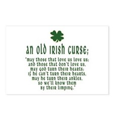 An Old irish curse Postcards (Package of 8)