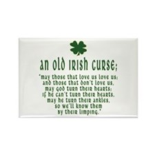 An Old irish curse Rectangle Magnet