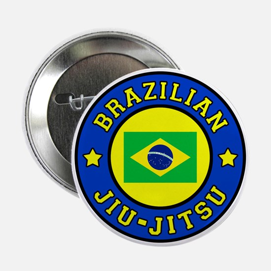 "Brazilian Jiu-Jitsu 2.25"" Button"