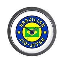 Brazilian Jiu-Jitsu Wall Clock