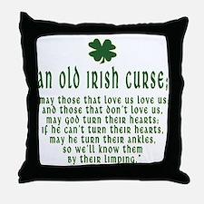 An Old irish curse Throw Pillow