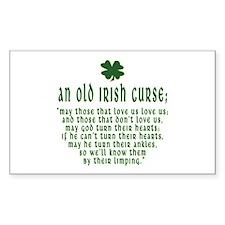 An Old irish curse Rectangle Decal