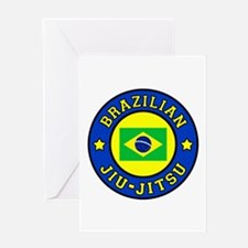 Brazilian Jiu-Jitsu Greeting Cards