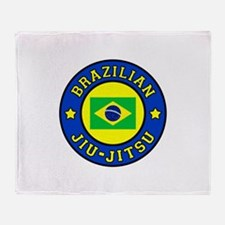 Brazilian Jiu-Jitsu Throw Blanket