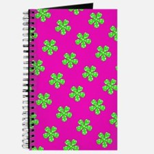 Pink Green Floral Anita's Fave Journal