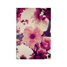 Rainy Blossoms-001 Rectangle Magnet