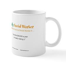 Sally SocialWorker Strikes it Rich  Mug
