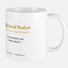 Sally SocialWorker Strikes it Rich  Mug
