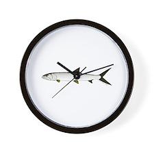Ladyfish Wall Clock