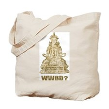 Vintage What Would Buddha Do? Tote Bag