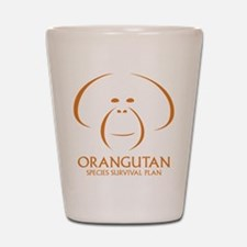 Orangutan Ssp Logo Shot Glass