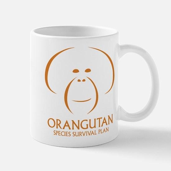 Orangutan Ssp Logo Mugs (orange Logo)