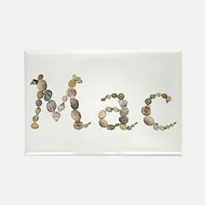 Mac Seashells Rectangle Magnet