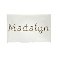 Madalyn Seashells Rectangle Magnet
