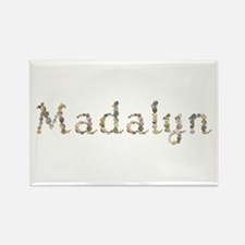 Madalyn Seashells Rectangle Magnet